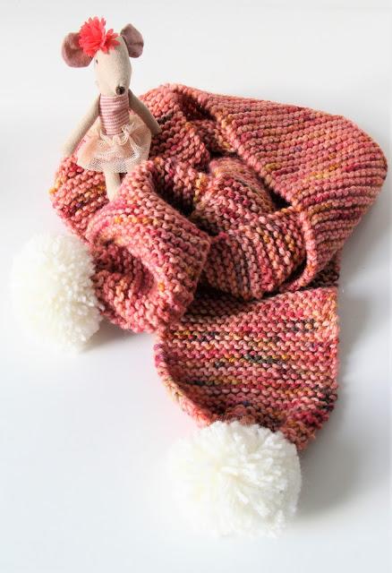 basissjaal, rechten, beginnen met breien, breien, eenvoudig, Gratis breipatronen, gratis patroon, kindersjaal, knitting, makkelijk patroon, Manos del Uruguay, sjaal, Studio Mojo,