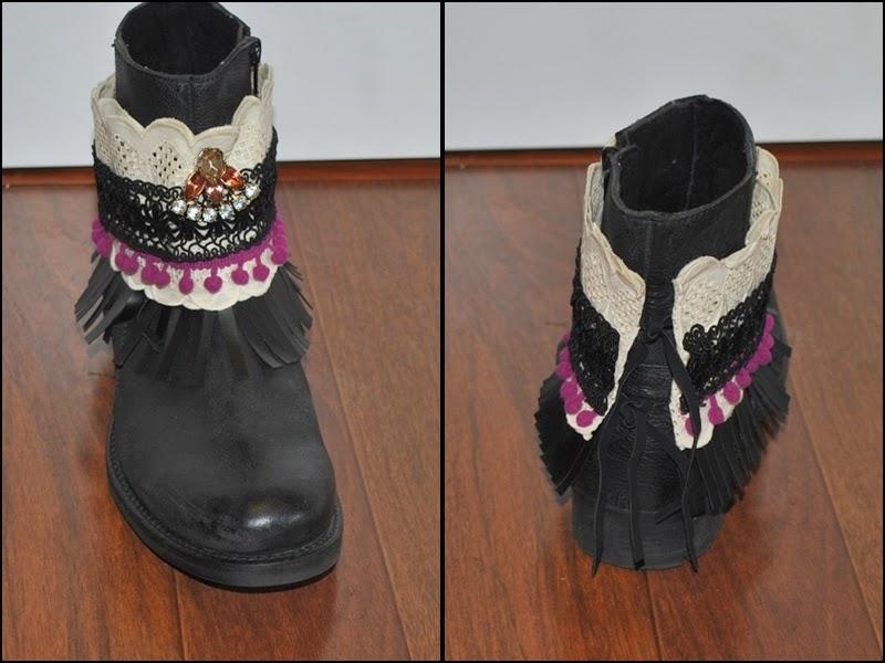 DIY cubre botas