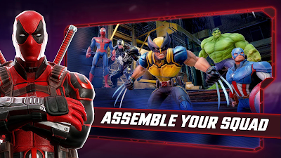 MARVEL Strike Force v2.1.1 Apk MOD [Unlimited Energy]