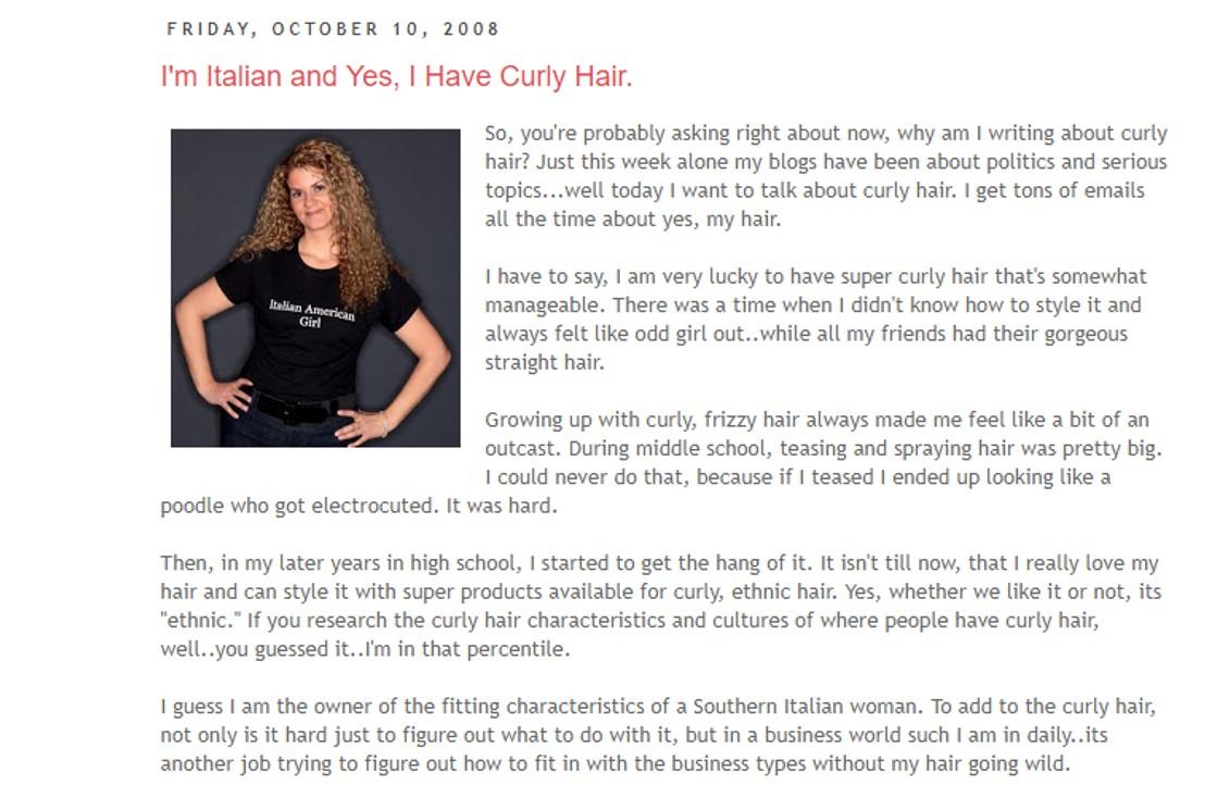 Italian American Girl Anniversary Post Part 1 Celebrating Most