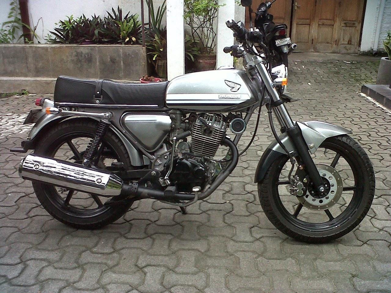 106 Modifikasi Motor Tiger Menjadi Cb Modifikasi Motor Honda CB