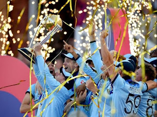 ENGLAND won the Title of ICC World Cup