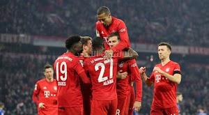 بايرن ميونخ يحقق الانتصار الكاسح على فريق شالكه بخماسية في الدوري الالماني