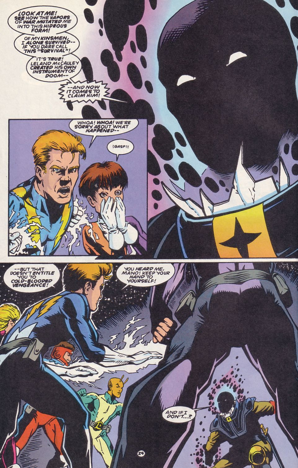 Legion of Super-Heroes (1989) 63 Page 24