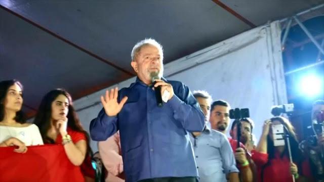 Lula denuncia intentos de oposición para impedir su candidatura