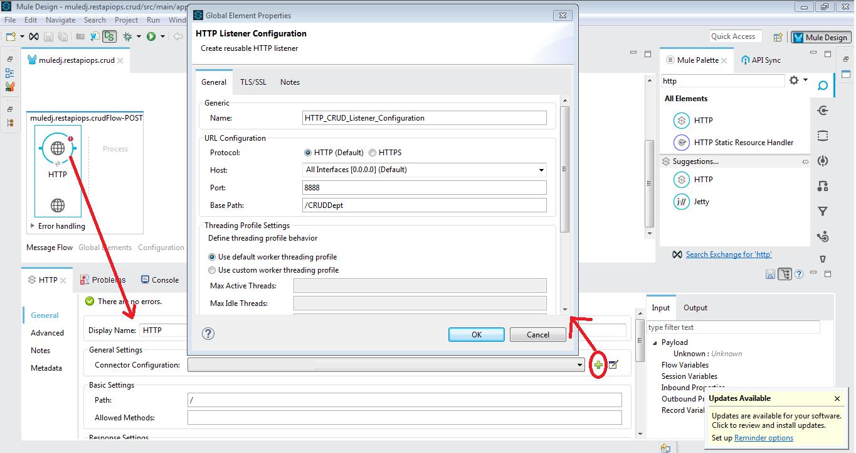 Mule ESB Tutorials: Building Restful API | CRUD Operations