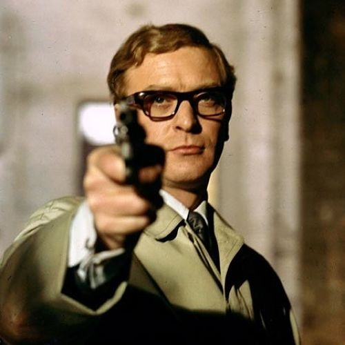 Michael Caine as Harry Palmer in Funeral in Berlin