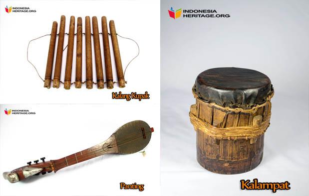 Alat Musik Tradisional Kalimantan Selatan