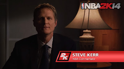 NBA 2K14 Steve Kerr Game Announcer