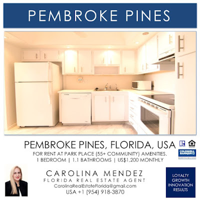 Condo for Rent at Park Place 1000 Saint Charles Pl Apt 613 Pembroke Pines
