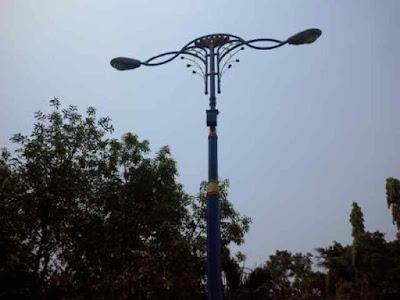 lampu pju, lampu taman, lampu antik, lampu mewah