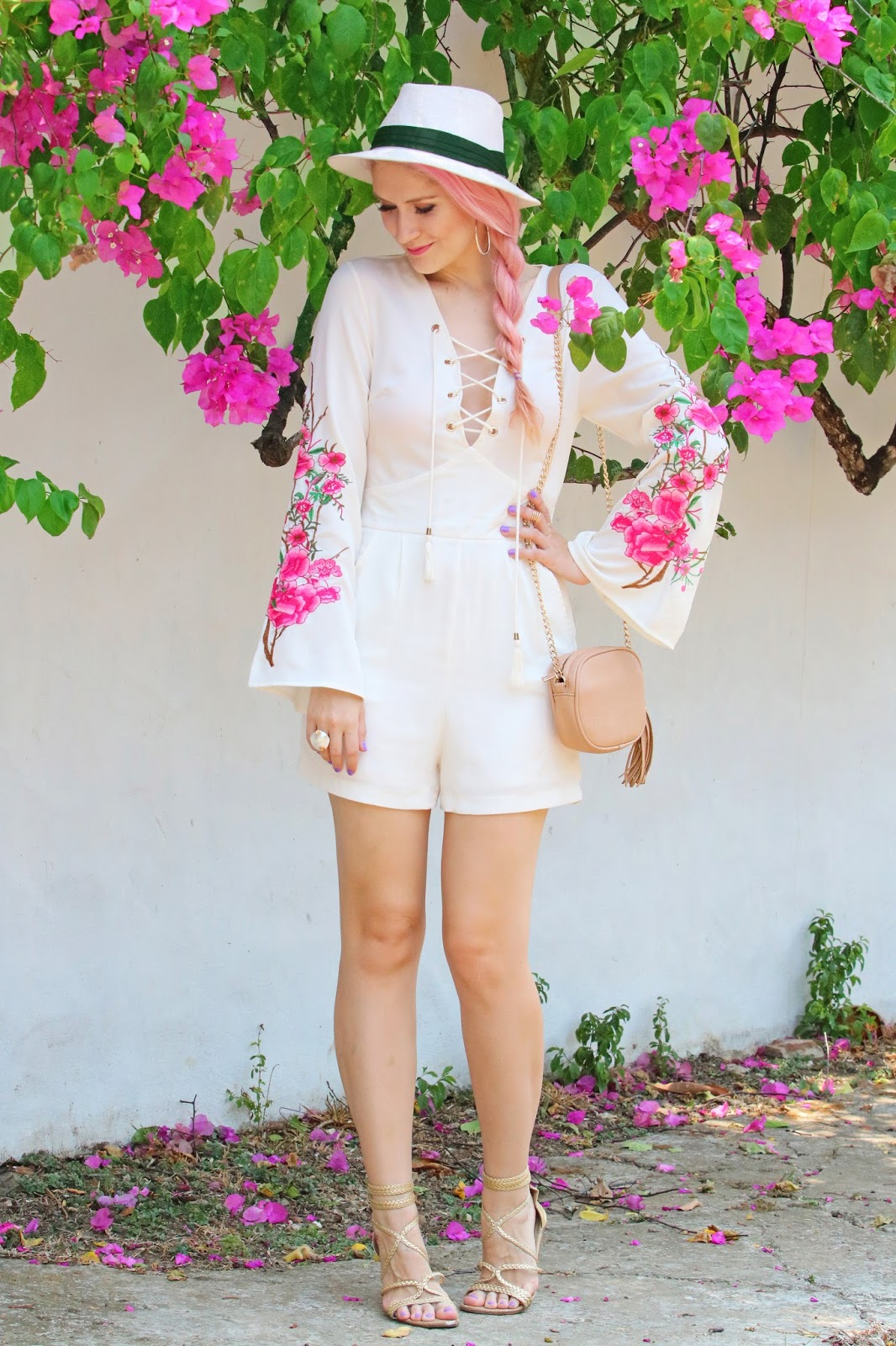 Cute Romper outfit for Summer