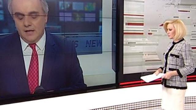 Εκπαιδευτικοί εισέβαλαν στο στούντιο της ΕΡΤ - Διακόπηκε το δελτίο (βίντεο)