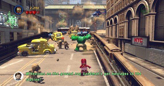 Download Lego Marvels Avengers Repack