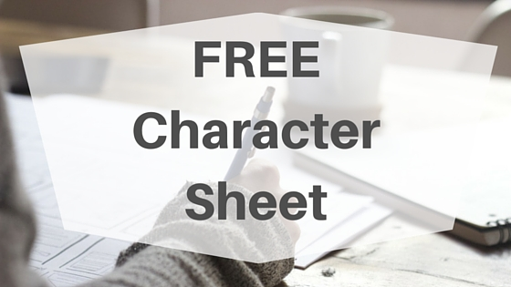 #NaNoPrep: Character Sheet (FREE download!), www.JoLinsdell.com #NaNoWriMo #Writing