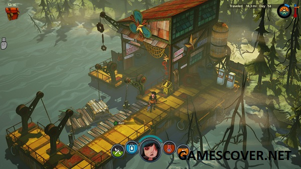 The Flame in the Flood Gameplay