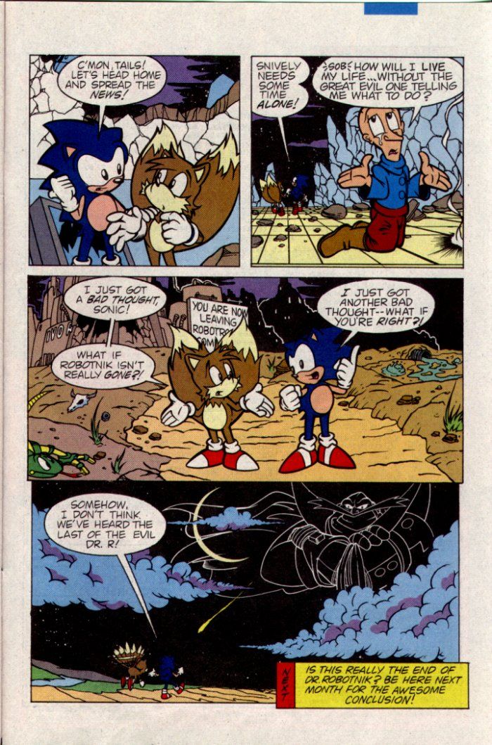 Read online Sonic The Hedgehog comic -  Issue #21 - 24