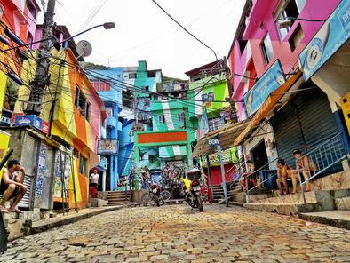 Santa Marta Favela, Rio de Janeiro