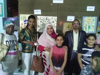 مبادرة مصر والسودان ايد واحدة تشارك اهالى السيدة احتفالات رمضان