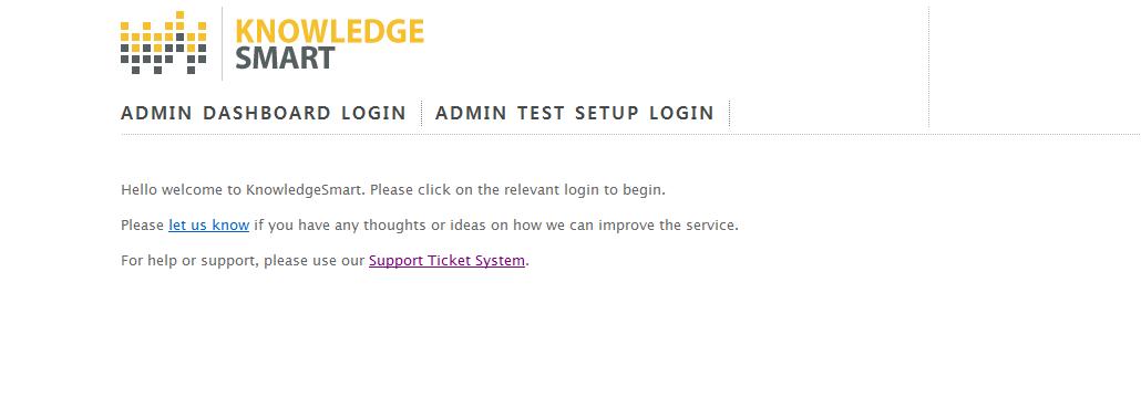 tests online login