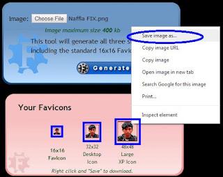 Cara Mudah Membuat Favicon & cara Memasangnya - Trik Blog