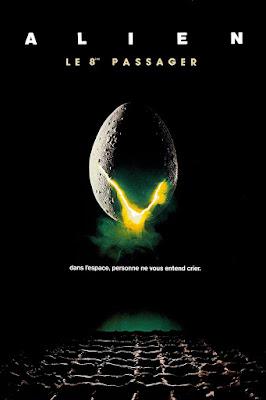 Affiche de Alien : le huitième passager, réalisé par Ridley Scott (1979)