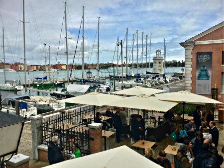 VENICE, ITALY BLOG - San Giorgio Café with Filippo La Mantia - Photo: Cat Bauer