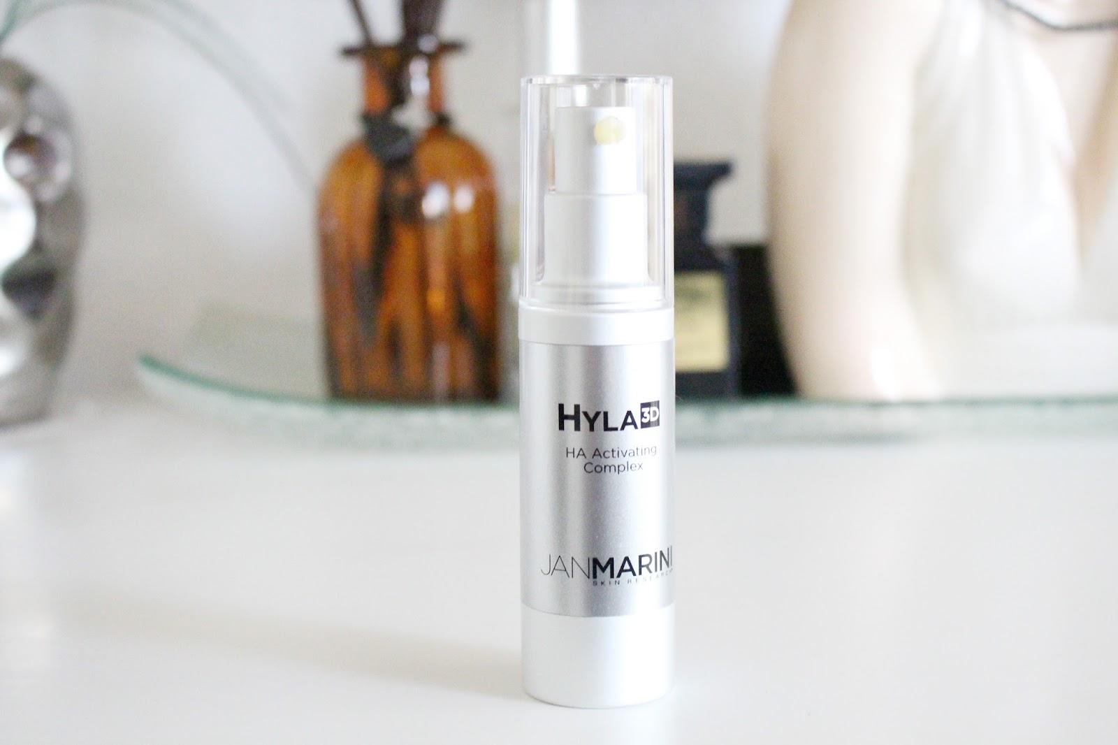 hyaluronic acid in skincare, sodium hyaluronate in skincare, jan marini hyla3d