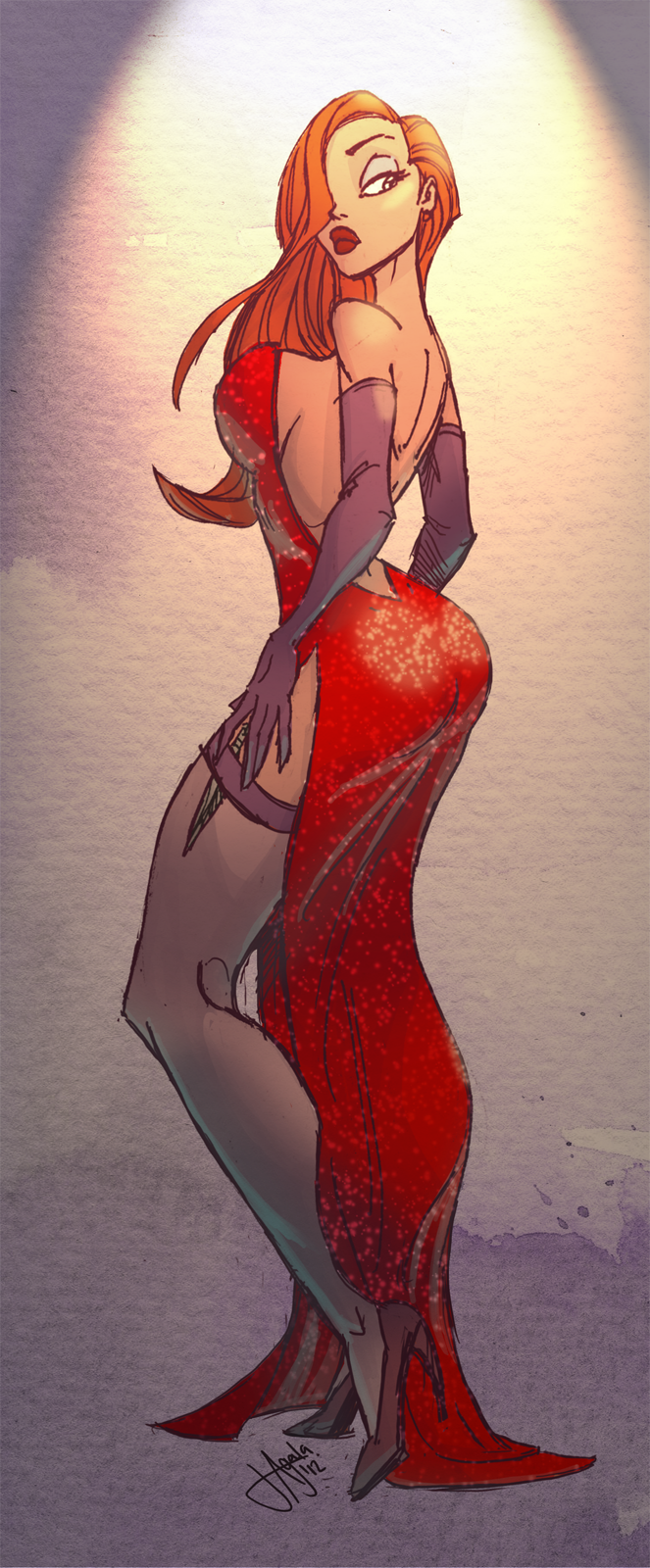 PLANET-PULP // CELEBRATING PULP CULTURE: Jessica Rabbit