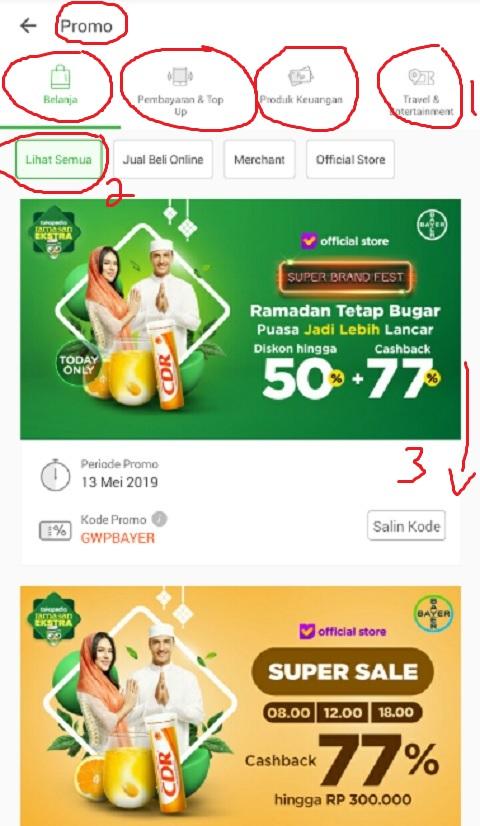 Mencari Promo Ramadhan di Tokopedia Melalui Menu Promo