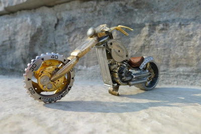 Cool and Creative Creations from Watch Parts (16) 6