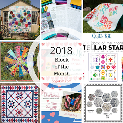 Block of the Month 2018