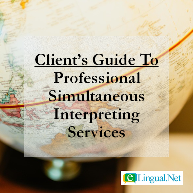 Language Interpreter | Simultaneous Interpreting Services | www.elingual.net