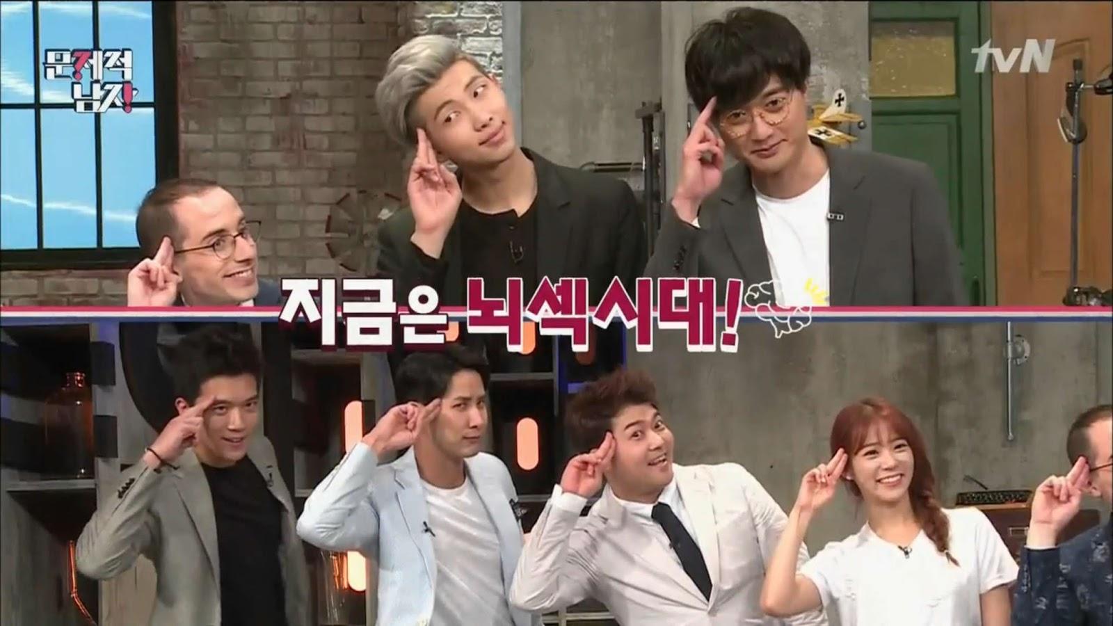 Enjoy Korea with Hui: Problematic Men EP.14 Questions (Brain Warm-ups) with  Han Seung-yeon of Kara