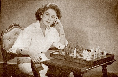 La ajedrecista María del Carmen Manchón