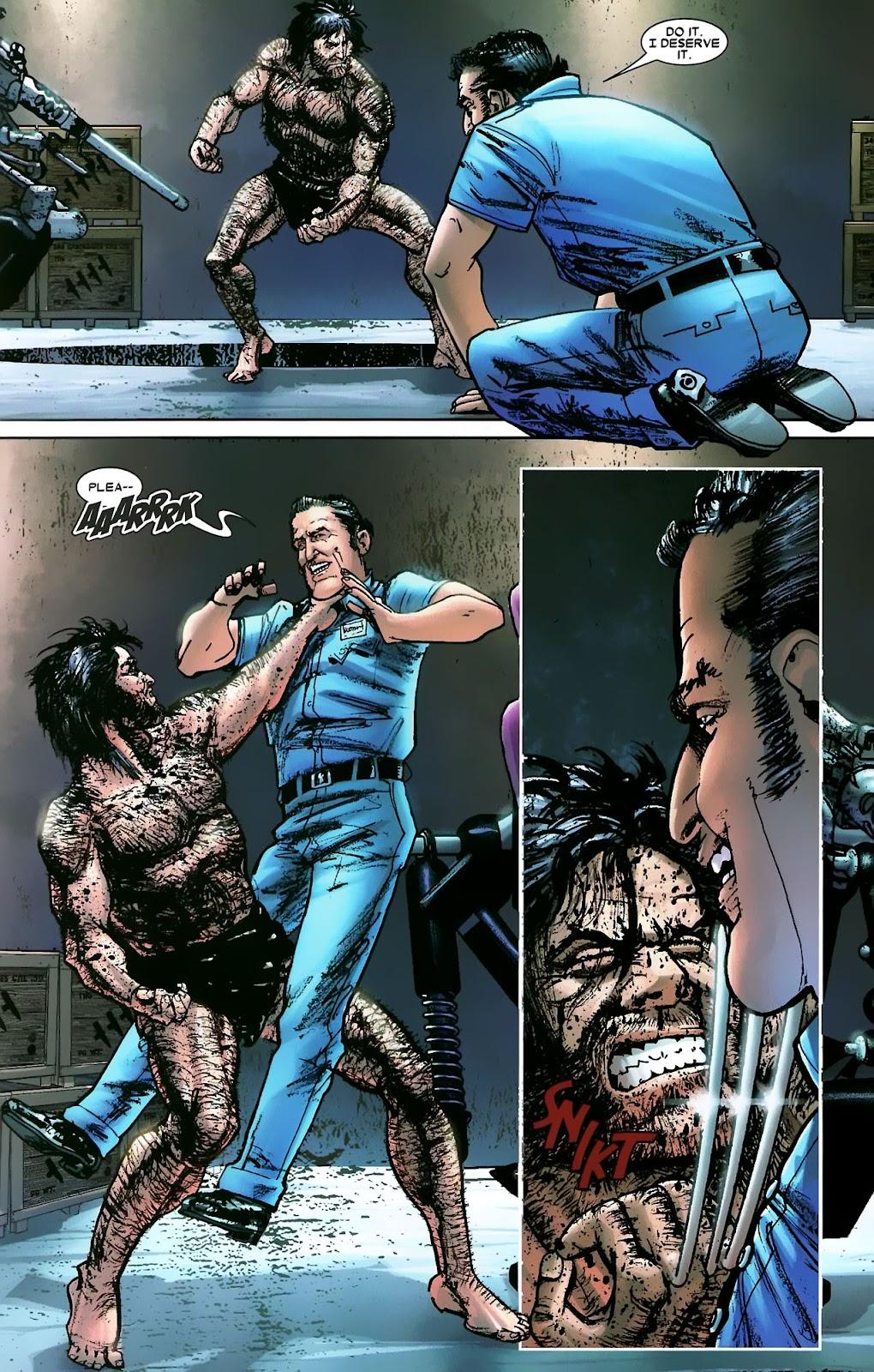 Read online Wolverine (2003) comic -  Issue #56 - 32