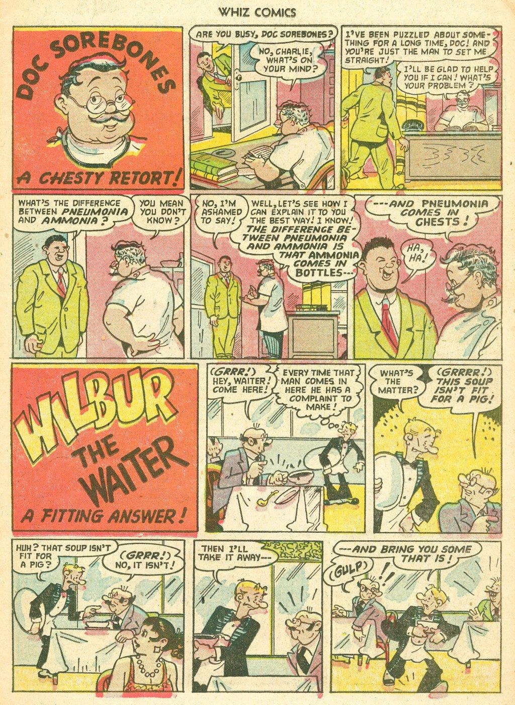 WHIZ Comics #155 #156 - English 15