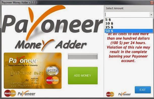 Payoneer_Money_Adder