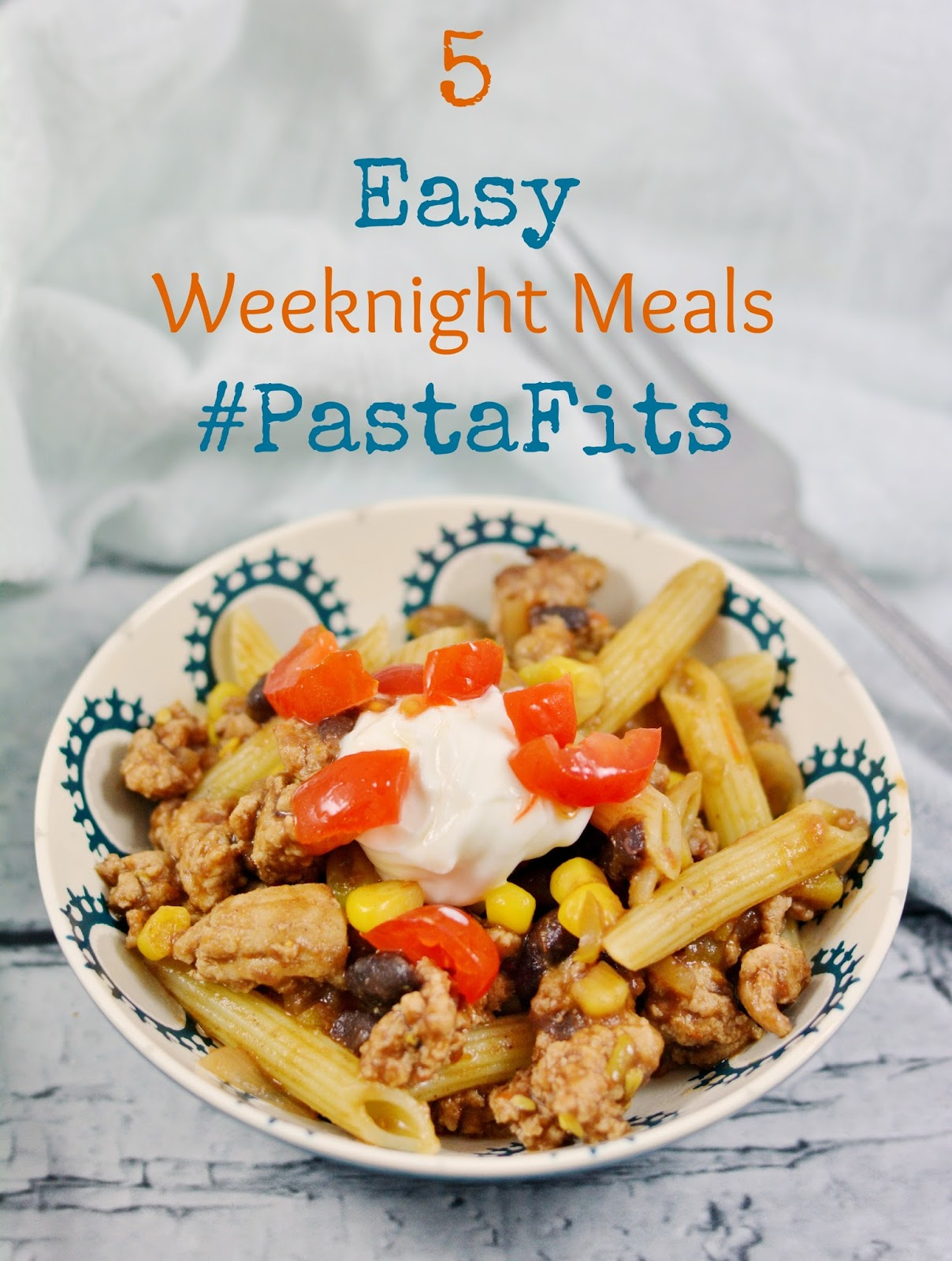 5 Easy Makeup Looks In Under 10 Minutes: Life With 4 Boys: 5 Easy Weeknight Meals #PastaFits #MC