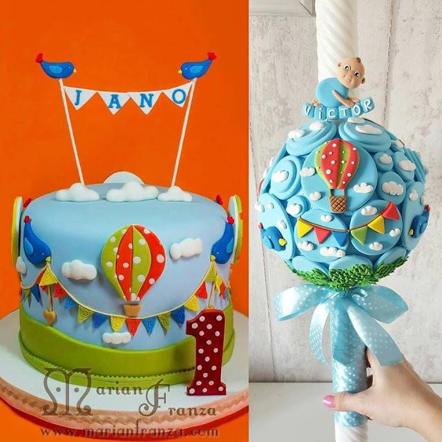 lumanari botez balon