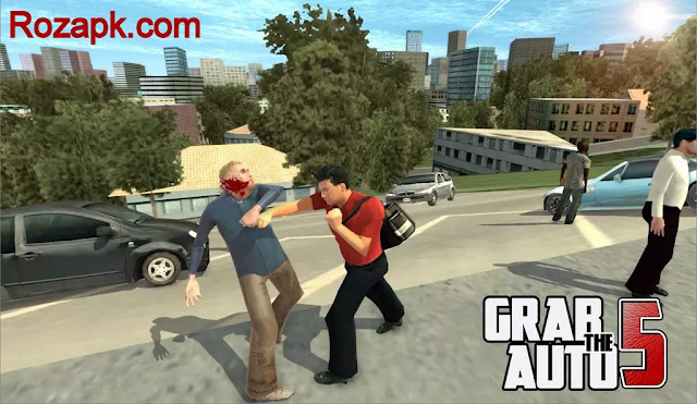 Grab The Auto 5 apk v1.0.0.8 Latest version For Android