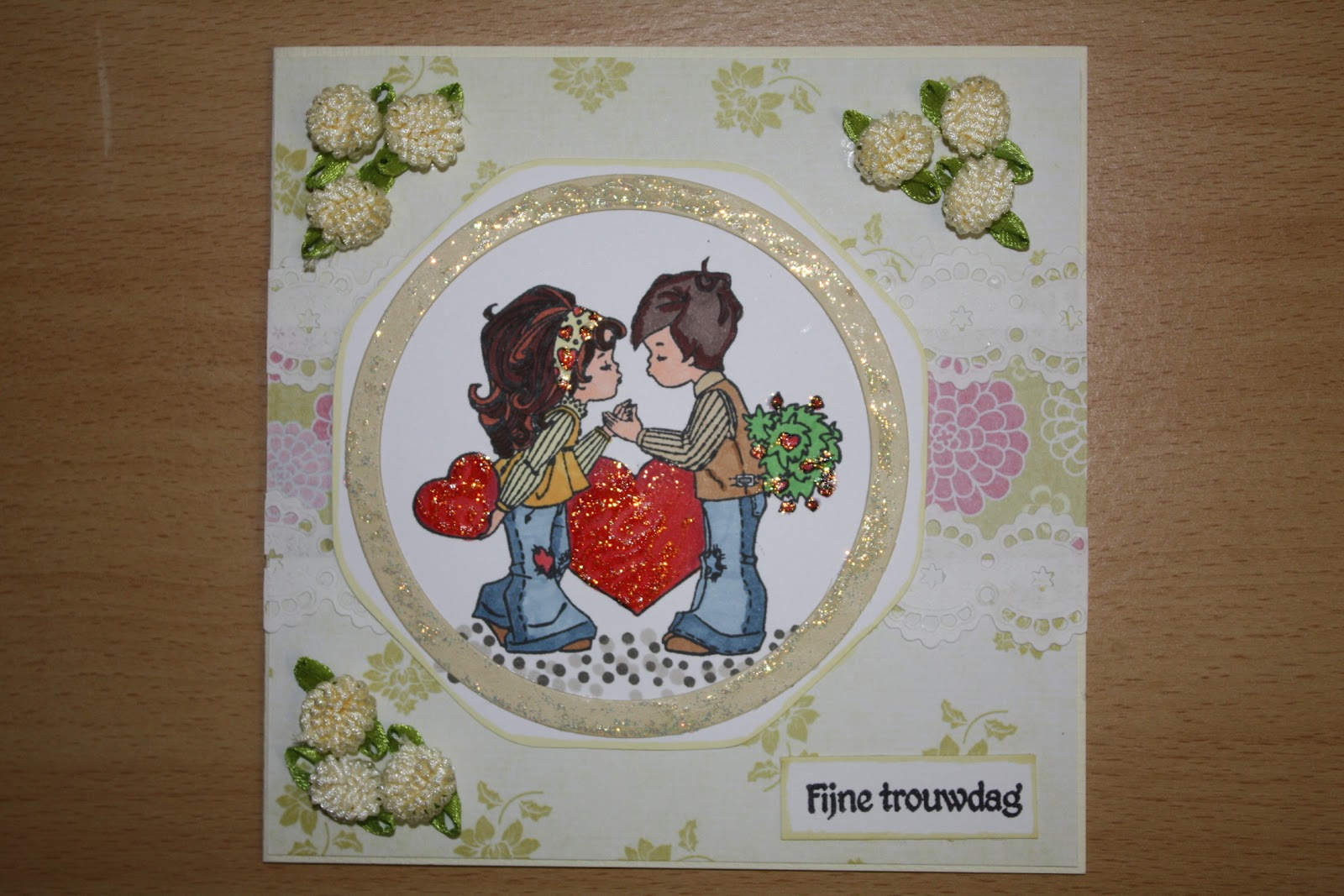 Cinderella S Dreamcardsblog Fijne Trouwdag Kaart