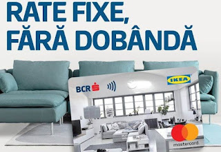 regulament oferta card ikea bcr rate fara dobanda acte