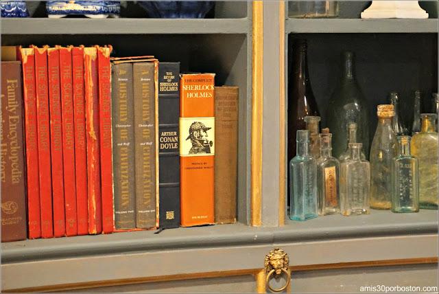 Tiradores de León de la Biblioteca del Castillo Hammond, Gloucester