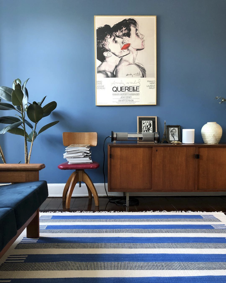 Embracing The Blues In The Fabulous Danish Home of Michael Schmidt