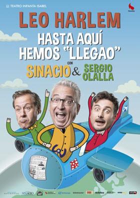 Leo Harlem asegura risas con 'Hasta aquí hemos llegao' en el Teatro Infanta Isabel