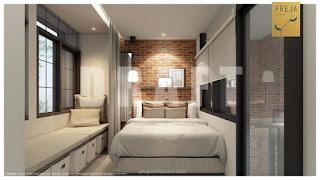 Interior Rumah Freja BSD - Kamar Tidur Utama