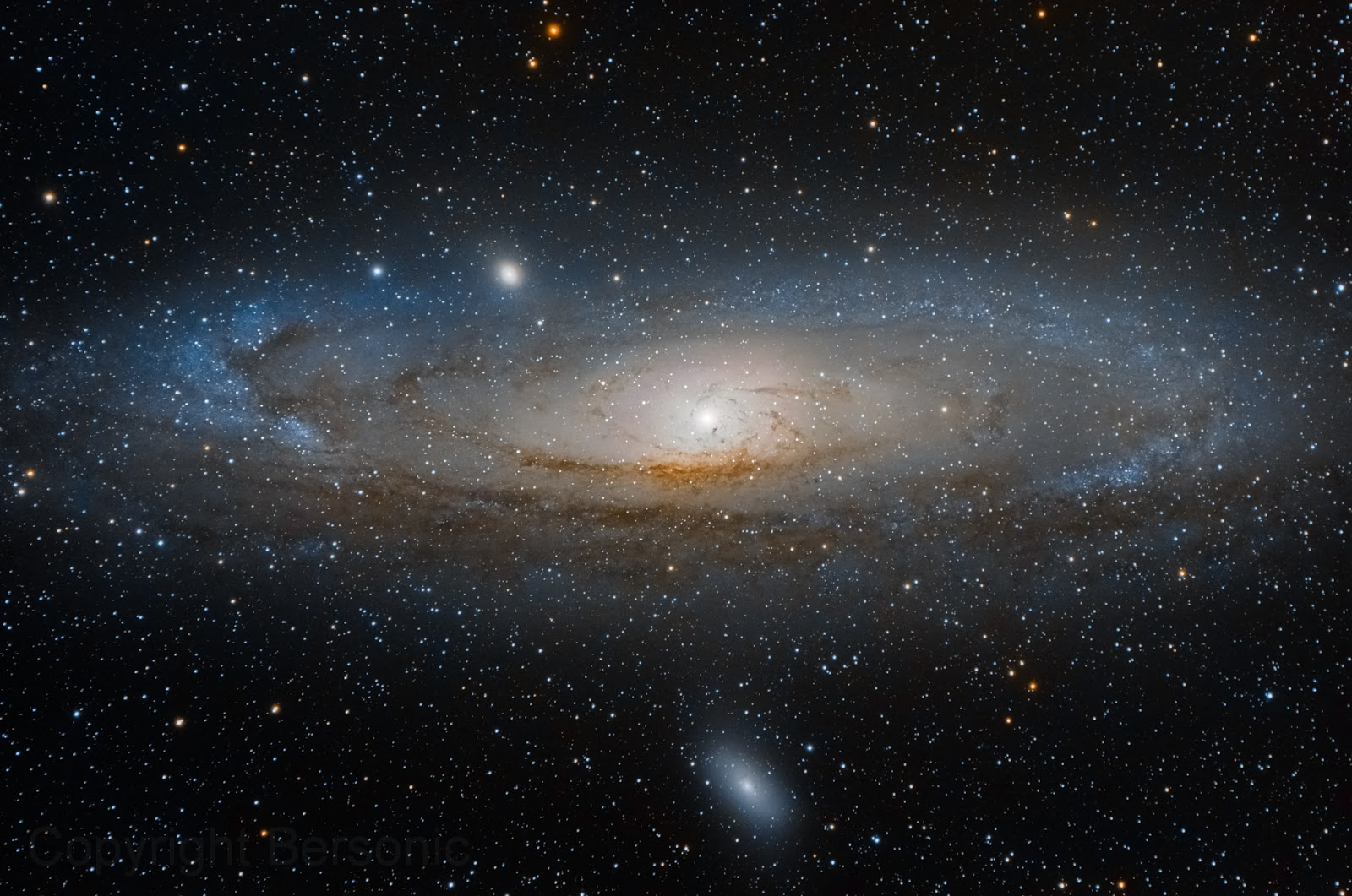 Andromeda Galaxy - Wallpaper HD | Earth Blog