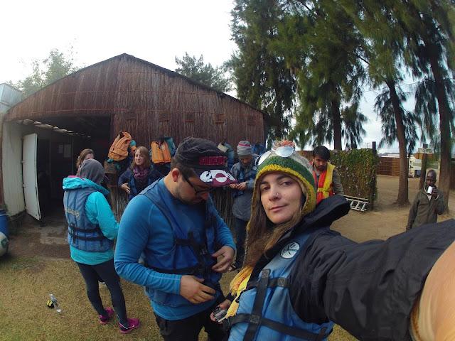 Fazer canoagem no  RIO ORANGE, uma experiêcia brutal! | África do Sul