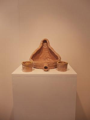 Malarko Hernandez Naive Ceramics Duchamp Fountain